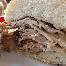 Josh's Roast Pork Sandwich