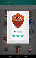 Screenshot of Football Logo Quiz