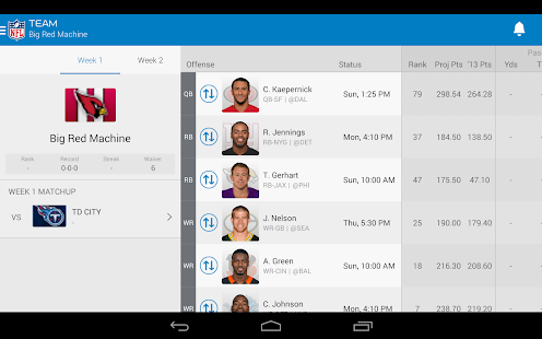 fantasy football apps on google play | free android app