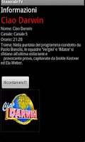 Screenshot of Stasera in tv Gratis