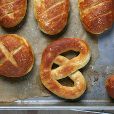Soft Pretzel Rolls Recipe