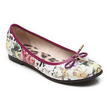 Roberto Cavalli Flower Slip On PUMPS