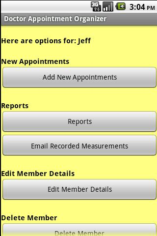 【免費健康App】Doctor Appointment Organizer-APP點子