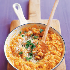 Creamy Carrot Rice