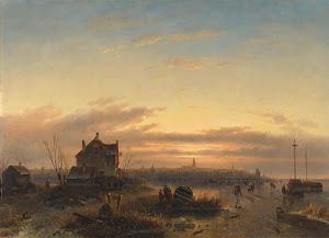 RIJKS: Charles Leickert: painting 1850