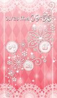 Screenshot of Cute wallpaper★Shiny pink