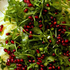 Fennel, Prosciutto and Pomegranate Salad