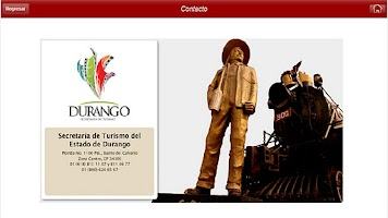 Screenshot of Durango Turistico