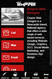 Empire Web Designs - screenshot