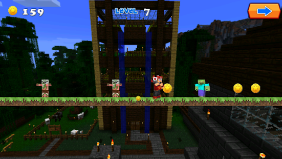 Adventure Zombie For Minecraft - screenshot