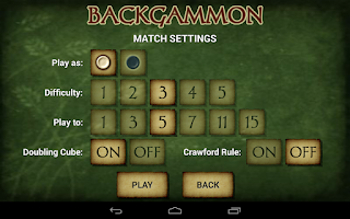 Screenshot of Backgammon Free