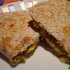 Vegetarian Breakfast Quesadillas