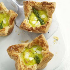 Deep-filled Asparagus & Mascarpone Tartlets