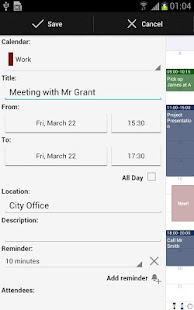 Business Calendar (календарь) Screenshot