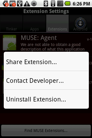 Pigeon MUSE Extension