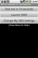 Screenshot of SMS Faker ™ (Ad Free)