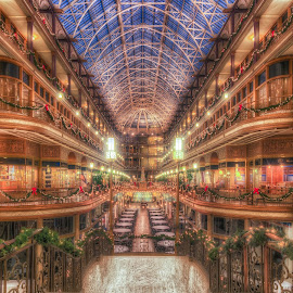 Old Arcade - Cleveland by Tom Baker - Buildings & Architecture Office Buildings & Hotels ( cleveland )