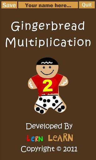 Gingerbread Multiplication