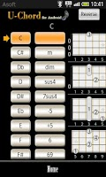 Screenshot of UChord  (Ukulele Chord Finder)