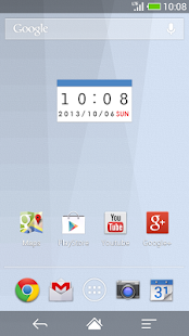 Calendar clock BL-MeClock - screenshot