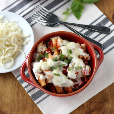 Slow Cooker Easy Baked Ziti + GIVEAWAY!