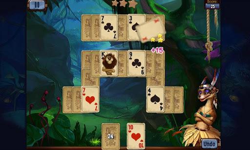 Rainforest Solitaire - screenshot