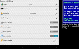 Screenshot of DosBox Turbo
