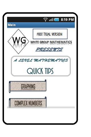 A Level Maths Tips Pt1 FreeVer
