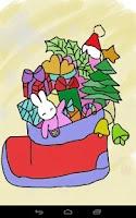 Screenshot of Kids Paint Christmas Cards