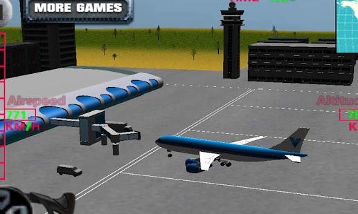 Game Flight Simulator Airplane 3D APK for Kindle