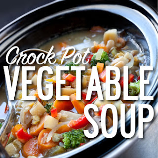 Vegetable Soup Chicken Broth Crock Pot Recipes