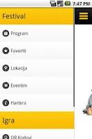 Screenshot of Hartera Music Festival 2012