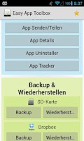 Screenshot of Easy App Toolbox (Backup)