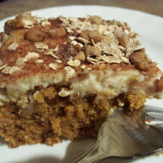 Pumpkin Latte Cake Bars