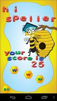 Screenshot of Spelling Grade 5 - SpellerBee