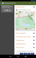 Screenshot of Subway and Metro Guide
