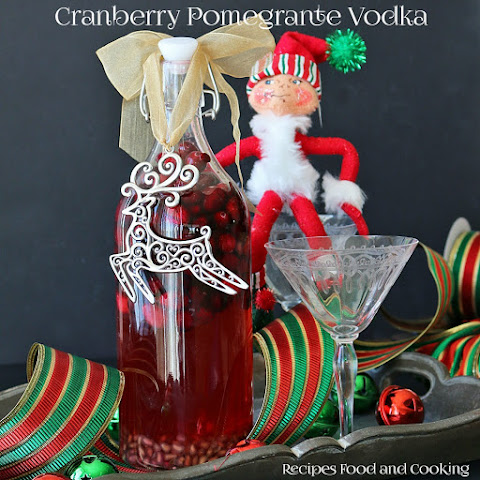 Cranberry Pomegranate Vodka