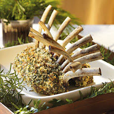 Rack of Lamb with Garlic-Herb Crust