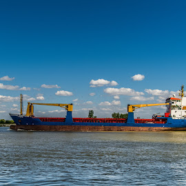 Dunarea by Ionel Lupu - Transportation Boats