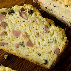 French Ham and Cheese Quick Bread Recipe