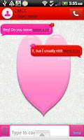 Screenshot of GO SMS - Kiss Me