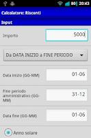 Screenshot of Economia Aziendale