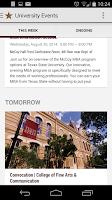 Screenshot of Texas State Mobile