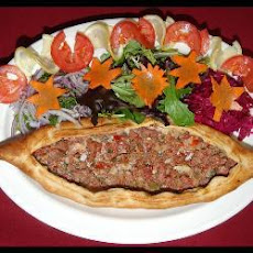 Turkish Meat Pide