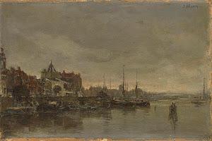 RIJKS: Jacob Maris: painting 1881