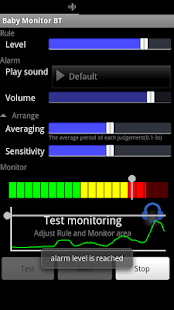 Baby Monitor BT - screenshot