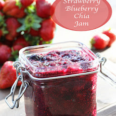 Strawberry Blueberry Chia Jam