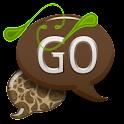 GO SMS - Coco Swirl icon