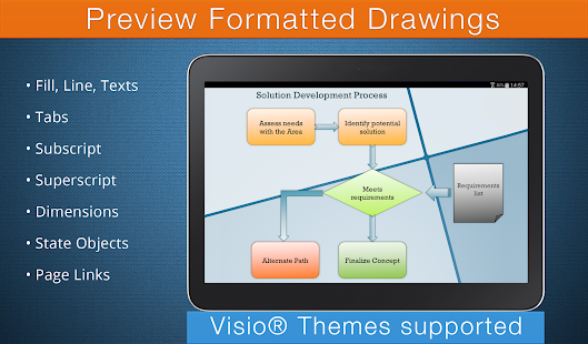 VSD Viewer for Visio Drawings Screenshot