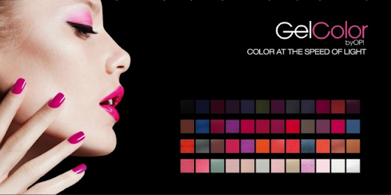 Opi gel colour & CND Shellac